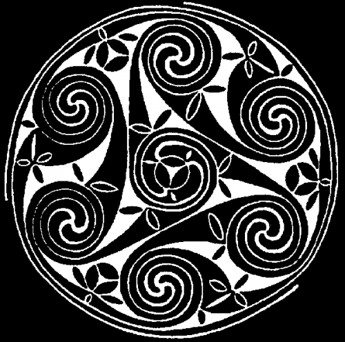 Celtic Scroll <br>(Short or Long Sleeve)