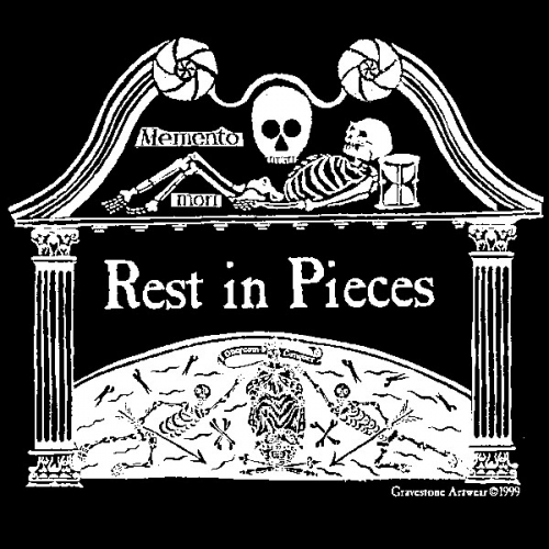 Rest in Pieces <br>(Short or Long Sleeve)